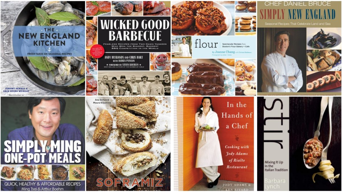30 Tomes From Top Boston Chefs